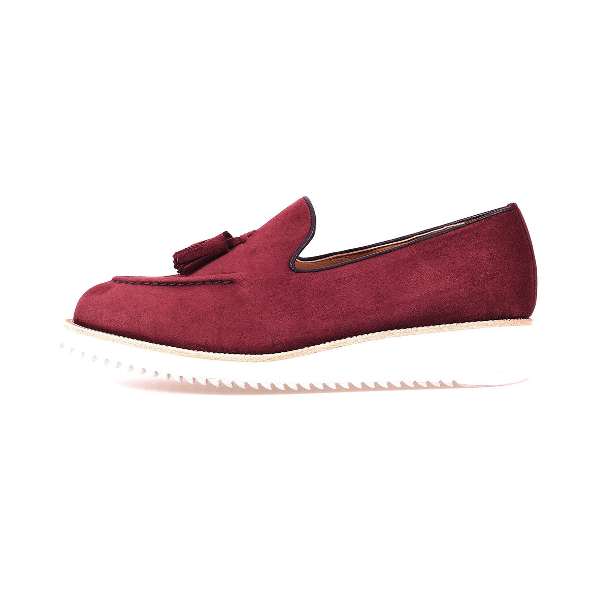 MARCH TASSEL [Burgundy Suede]