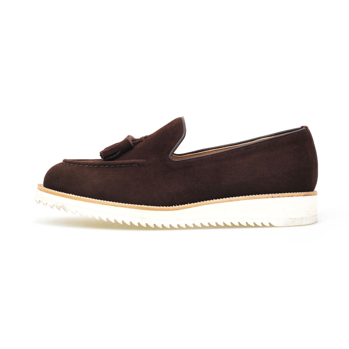 MARCH TASSEL  [Dark Brown Suede]